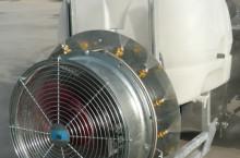пръскачка 400 л. вентилаторна