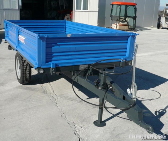 Ремаркета и цистерни 1,5 т. ремарке за трактор ново 0