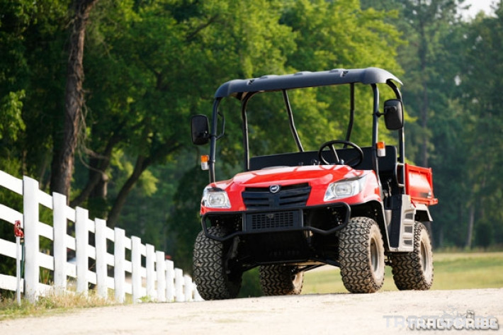 UTV, ATV, сервизни коли Kioti 2210 - превозна количка 4х4 0