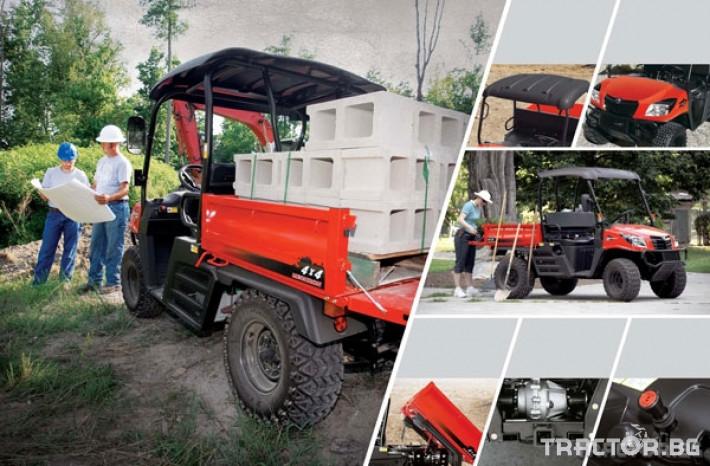 UTV, ATV, сервизни коли Kioti 2210 - превозна количка 4х4 1
