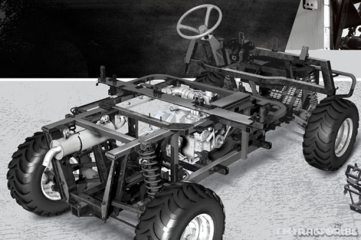 UTV, ATV, сервизни коли Kioti 2210 - превозна количка 4х4 2