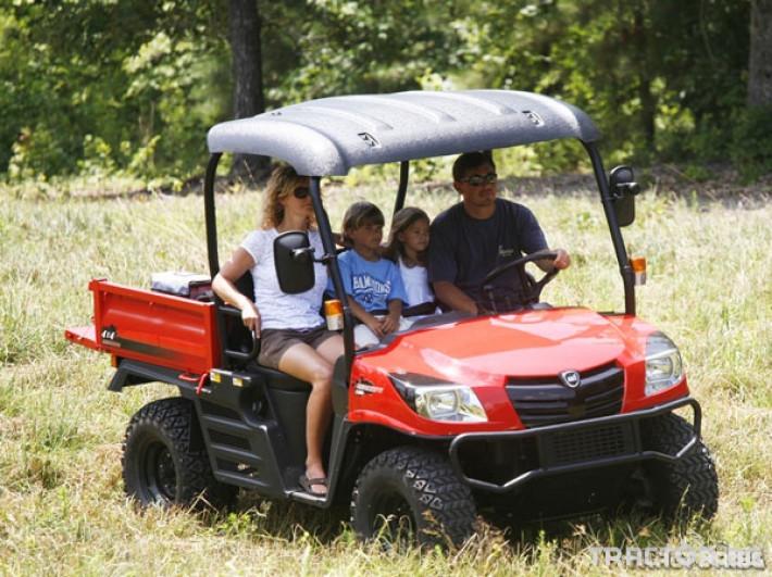 UTV, ATV, сервизни коли Kioti 2210 - превозна количка 4х4 3