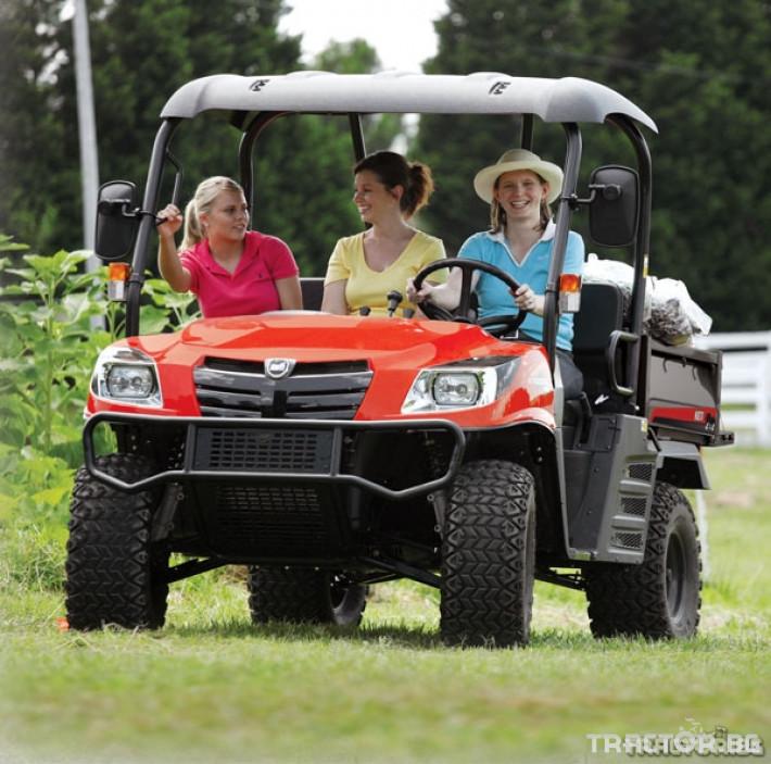 UTV, ATV, сервизни коли Kioti 2210 - превозна количка 4х4 4