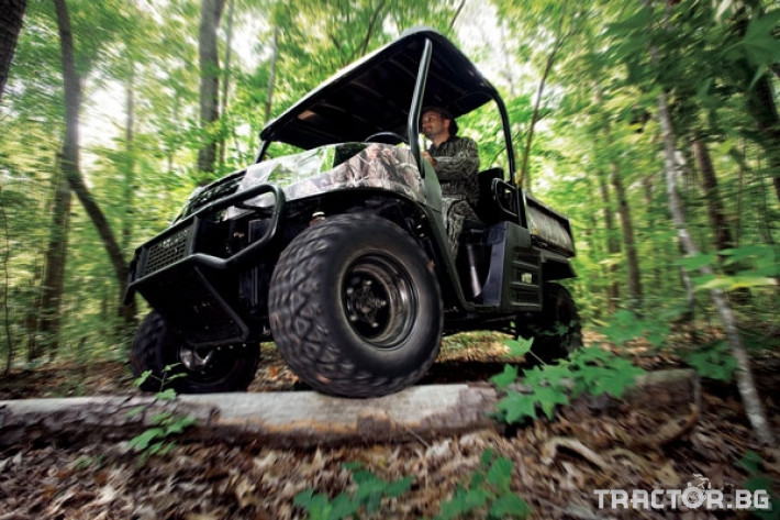 UTV, ATV, сервизни коли Kioti 2210 - превозна количка 4х4 5