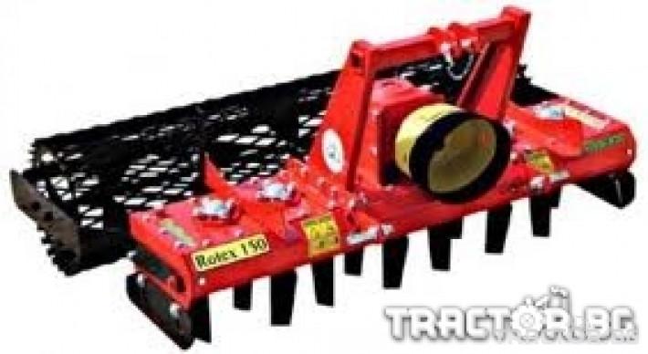Брани Зъбна брана ROTEX 130 2