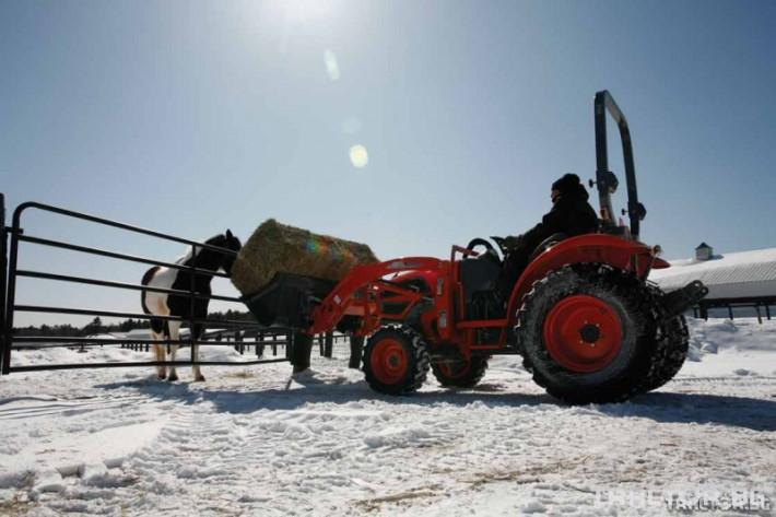 Машини за ферми Трактор с челен товарач - KIOTI CK35 - 35 к.с. 0