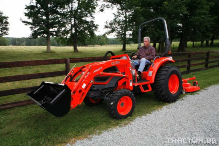 Машини за ферми Трактор с челен товарач - KIOTI CK35 - 35 к.с. 1