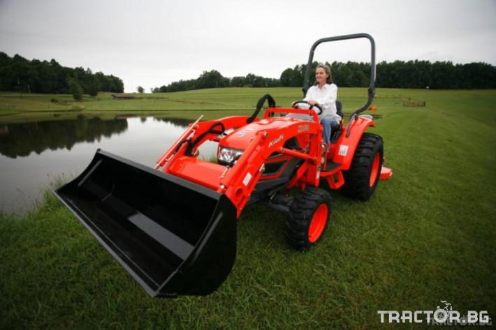Машини за ферми Трактор с челен товарач - KIOTI CK35 - 35 к.с. 3