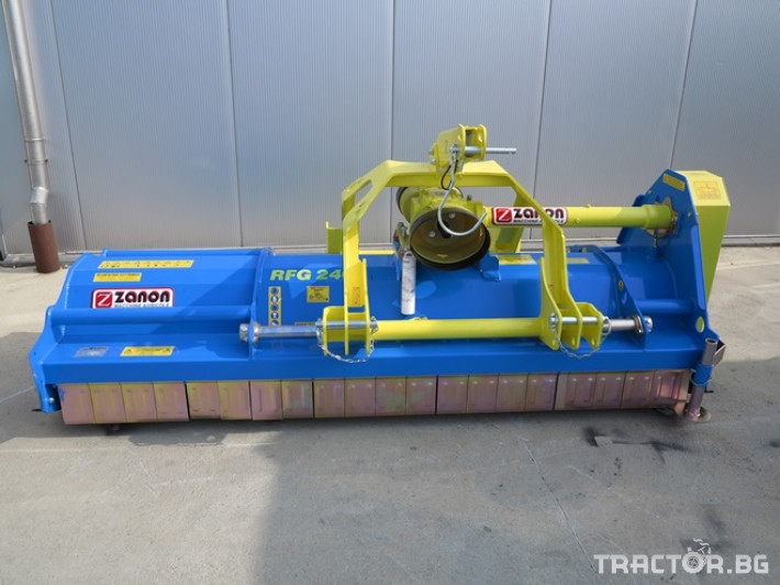 Мулчери Шредер RFG - реверсивен за предна и задна навесна система. 0 - Трактор БГ