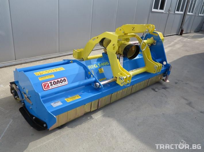 Мулчери Шредер RFG - реверсивен за предна и задна навесна система. 1 - Трактор БГ