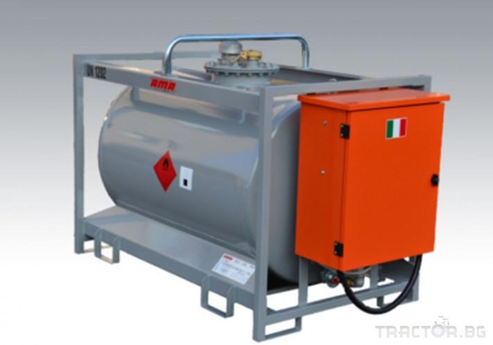 Ремаркета и цистерни Преносима цистерна за гориво TT ADR 920 - 12K - Ama, Италия 0