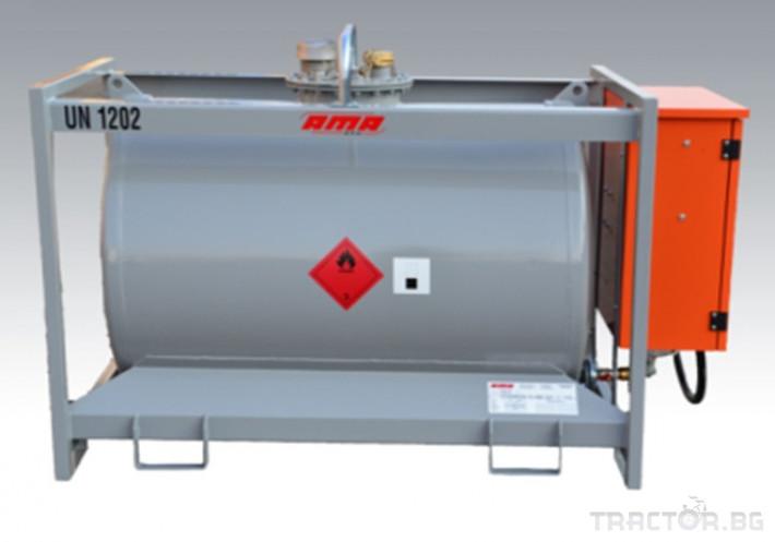 Ремаркета и цистерни Преносима цистерна за гориво TT ADR 920 - 12K - Ama, Италия 1