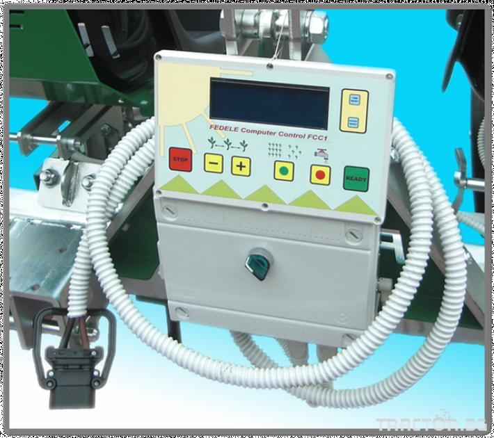 Машини за зеленчуци Разсадопосадачна машина FEDELE модел FAST ELECTRONIC 4