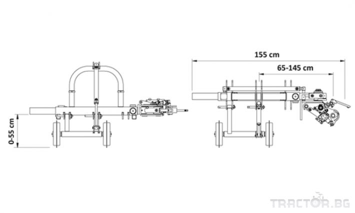 Машини за лозя / овошки Задна отклоняваща секция Orizzonti ORION 5