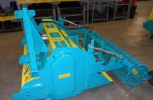 Машина за окончателна обработка на почва с много камъни - Модел TSR