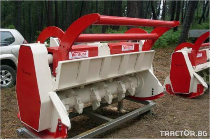 Мулчери Горски мулчер с двойна трансмисия за дървета до 30 см 1 - Трактор БГ