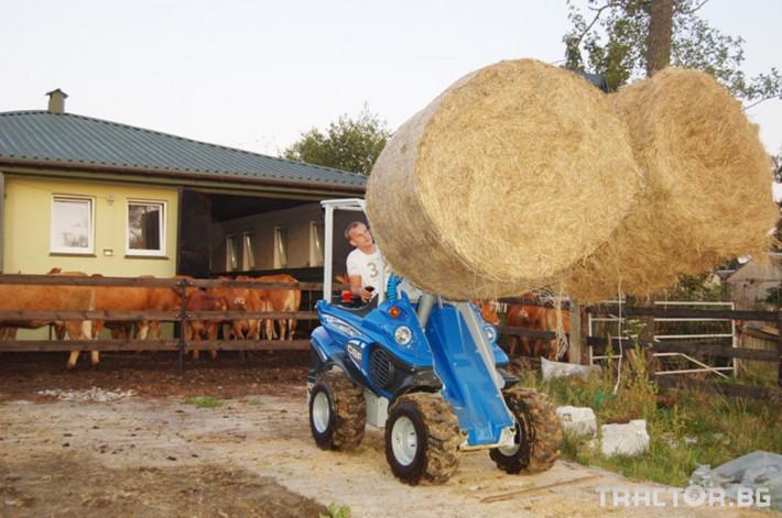 Машини за ферми Вилици за бали Multione 1