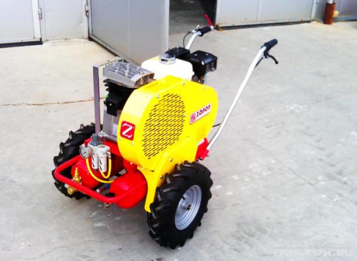 Машини за лозя / овошки Самоходни компресори ZANON модел  GALAXY 0 - Трактор БГ