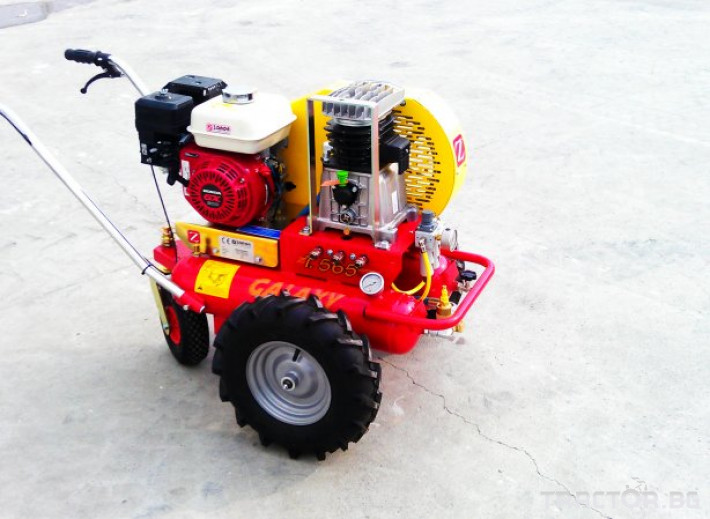 Машини за лозя / овошки Самоходни компресори ZANON модел  GALAXY 1 - Трактор БГ