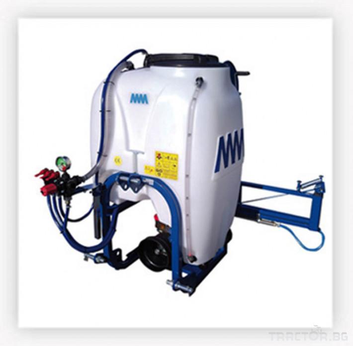 Пръскачки Навесна хербецидна пръскачка ММ 120-200 литра 4