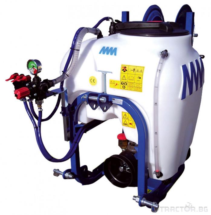 Пръскачки Навесна хербецидна пръскачка ММ 120-200 литра 0