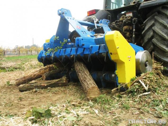 Машини за лозя / овошки Раздробител на клони ZANON модел TRK 0 - Трактор БГ