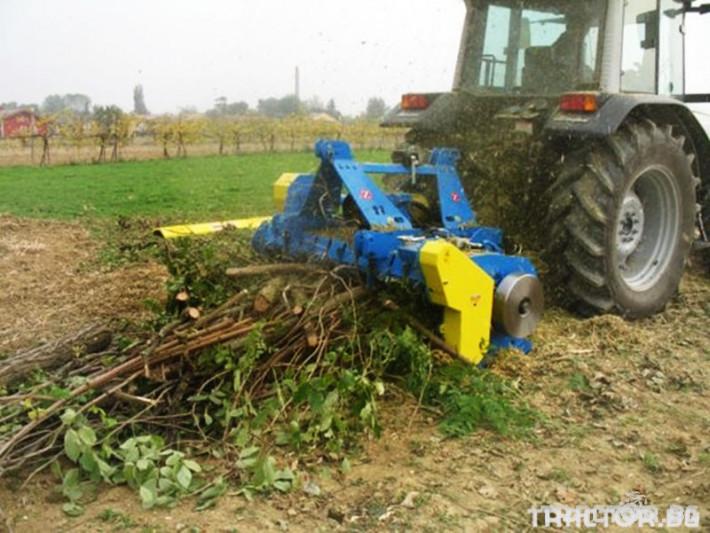 Машини за лозя / овошки Раздробител на клони ZANON модел TRK 1 - Трактор БГ