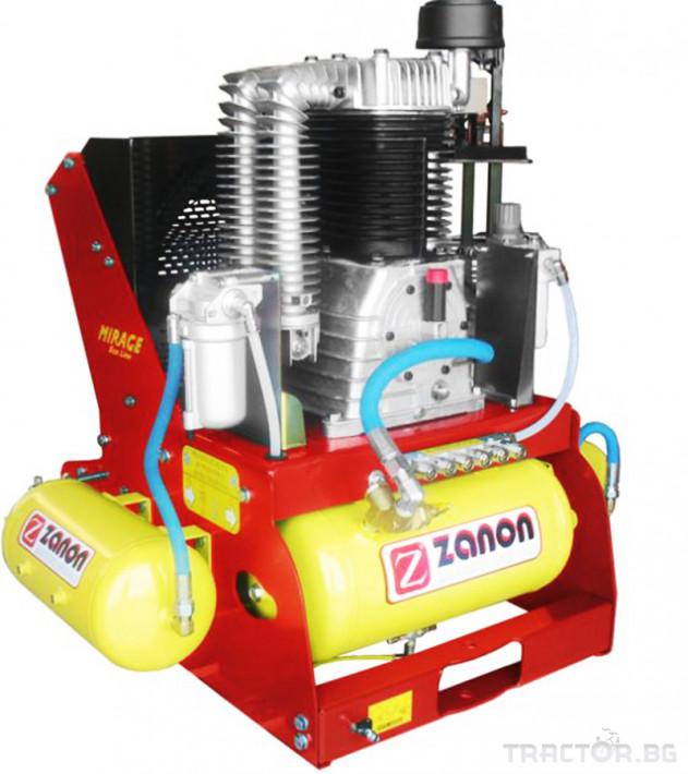 Машини за лозя / овошки Компресор за трактори ZANON модел MIRAGE 3