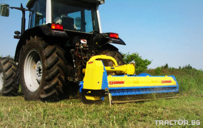 Машини за лозя / овошки Раздробител на клони след резитба на лозя и овощни градини ZANON модел TMU 2