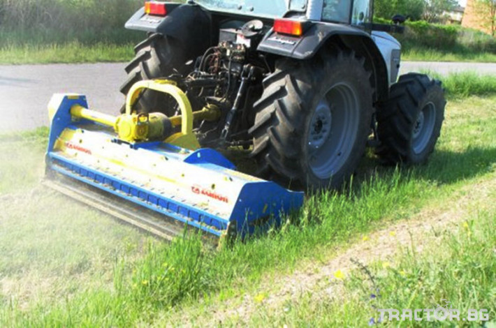 Машини за лозя / овошки Раздробител на клони след резитба на лозя и овощни градини ZANON модел TMU 0