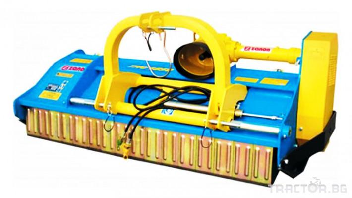 Машини за лозя / овошки Раздробител на клони след резитба на лозя и овощни градини ZANON модел TMU 1