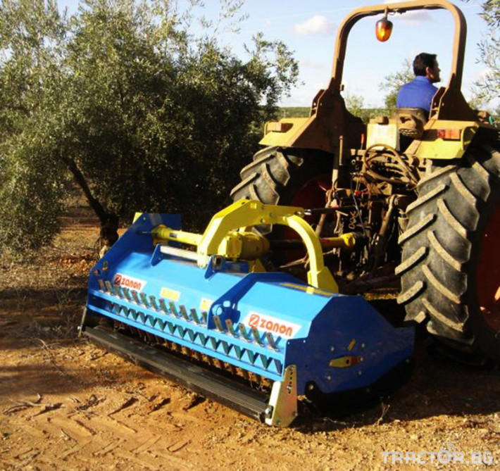Машини за лозя / овошки Раздробител на клони след резитба на лозя и овощни градини ZANON модел TMS 0 - Трактор БГ