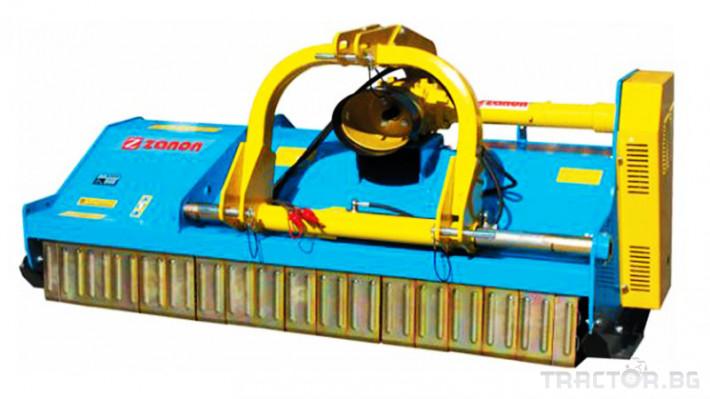 Машини за лозя / овошки Раздробител на клони след резитба на лозя и овощни градини ZANON модел TMS 2 - Трактор БГ