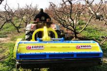 Раздробител за овощни градини ZANON модел TFB