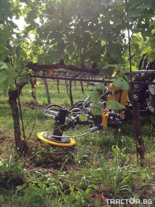 Машини за лозя / овошки Автоматично отклоняваща секция ORIZZONTI модел  FAST 3 - Трактор БГ