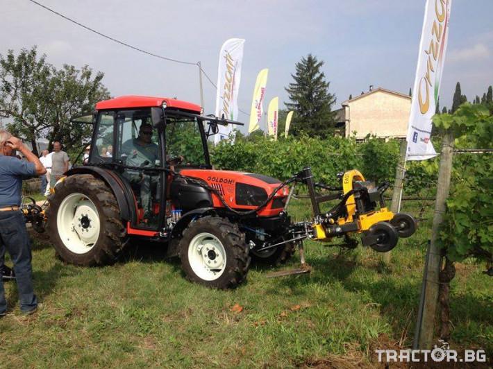 Машини за лозя / овошки Автоматично отклоняваща секция ORIZZONTI модел  FAST 4 - Трактор БГ