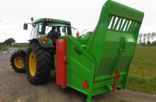 Раздробител на бали VDW за трактор