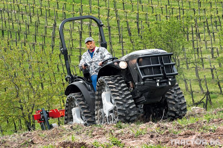 Трактори Antonio Carraro MACH4 0