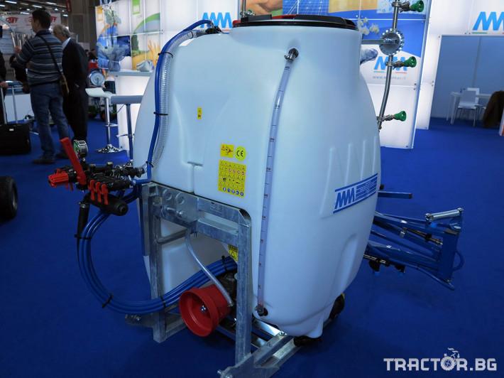 Пръскачки Навесна щангова пръскачка ММ - 300, 400 литра 1