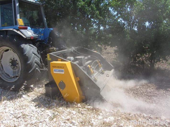 Фрези Универсални раздробители на камъни AGRIWORLD модел FPR/FPRD 8 - Трактор БГ