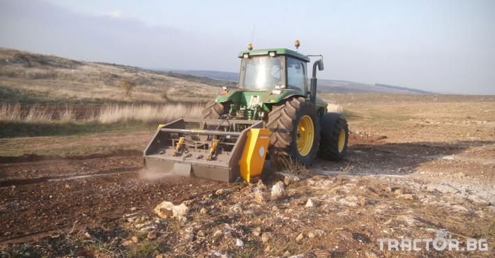 Фрези Универсални раздробители на камъни AGRIWORLD модел FPR/FPRD 12 - Трактор БГ