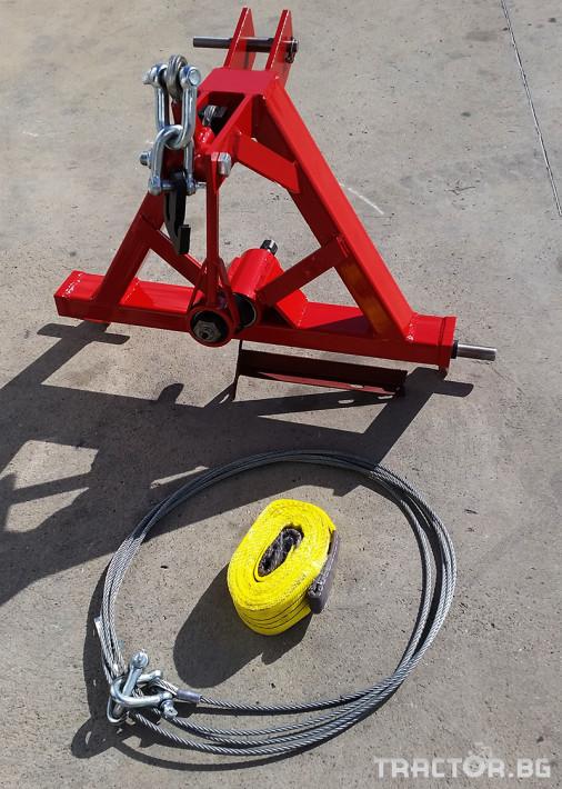 Машини за лозя / овошки Машина за друсане на орехи и сливи ПИД 1 - Трактор БГ