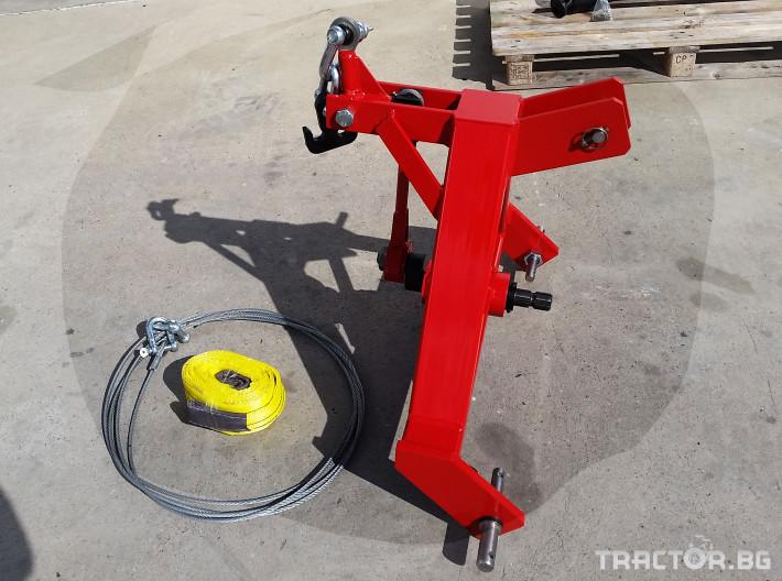 Машини за лозя / овошки Машина за друсане на орехи и сливи ПИД 2 - Трактор БГ