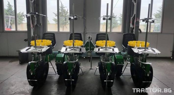 Машини за зеленчуци Разсадопосадъчна машина FEDELE модел FAST 4