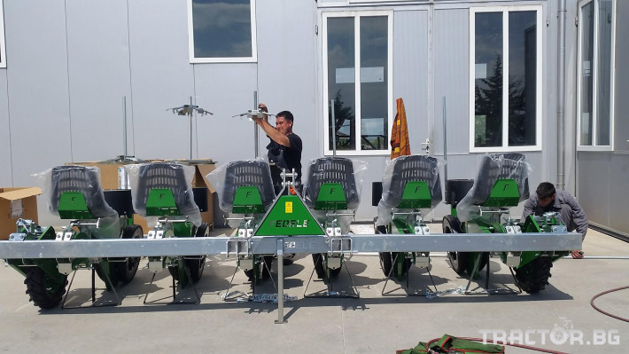 Машини за зеленчуци Разсадопосадъчна машина FEDELE модел FAST 5