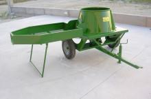 Машина за отстраняване зелената обвивка на орехи и бадеми