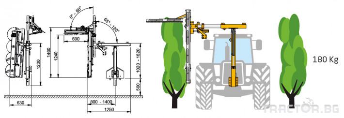 Машини за лозя / овошки Машина за контурна резитба ORIZZONTI модел CFC/300 0