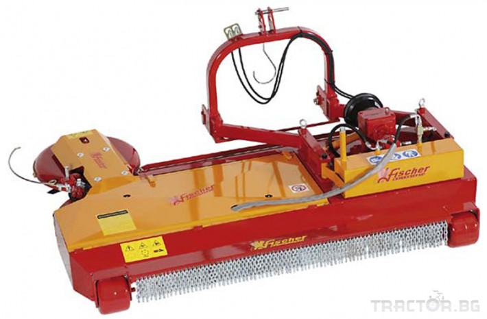 Косачки Мулчер Fishcer модел SL 4