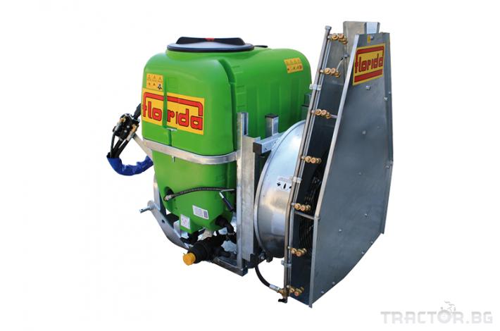 Пръскачки Навесна вентилаторна пръскачка FLORIDA модел NAZA TOWER 2 - Трактор БГ