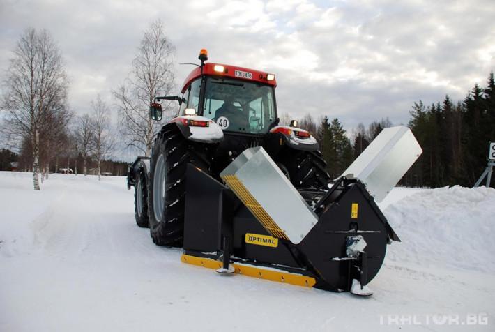 Техника за почистване Роторен снегорин OPTIMAL - V образен модел 2252/2452 HY 3
